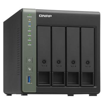 QNAP TS-431X3-4G 4 Bay Diskless NAS Quad Core 1.7GHz CPU 4GB RAM Product Image 2