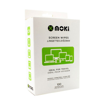 Image for Moki Screen Clean Disposable Wipes - 100 Wipes AusPCMarket