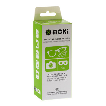 Image for Moki Optical Lens Wipes - 40 Pack AusPCMarket