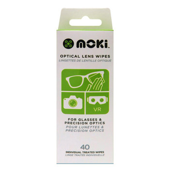 Moki Optical Lens Wipes - 40 Pack Product Image 2