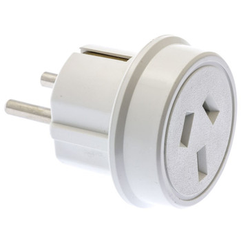 Image for Moki AU/NZ to Europe Travel Adaptor AusPCMarket