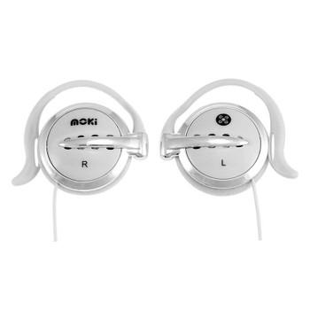 Image for Moki Clip-On Earphones - White AusPCMarket