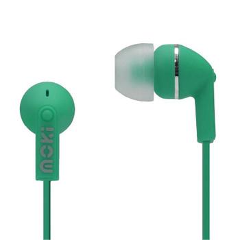Image for Moki Dots Noise Isolation Earphones - Green AusPCMarket