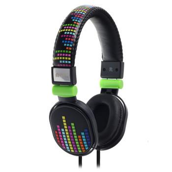 Image for Moki Popper Headphones - Levels Black AusPCMarket