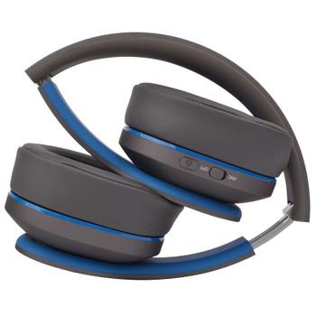 Moki Navigator ANC Volume Limited Headphones - Blue Product Image 2