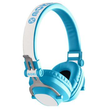 Image for Moki EXO Kids Bluetooth Headphones - Blue AusPCMarket