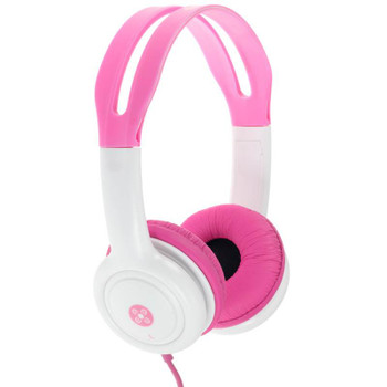 Image for Moki Volume Limited Headphones for Kids - Pink AusPCMarket