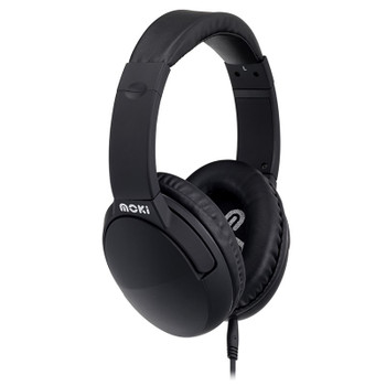 Image for Moki Active Noise Cancelling Headphones - Black AusPCMarket