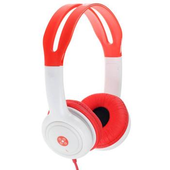 Image for Moki Volume Limited Headphones for Kids - Red AusPCMarket