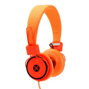 Image for Moki Hyper Headphones - Orange AusPCMarket