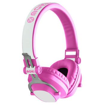 Image for Moki EXO Kids Bluetooth Headphones - Pink AusPCMarket