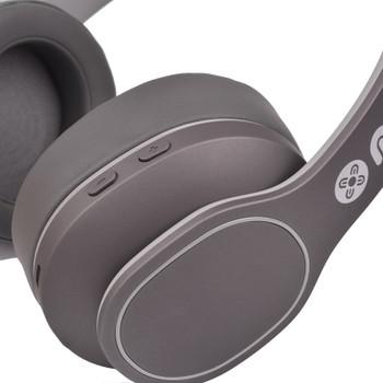 Moki Navigator ANC Volume Limited Bluetooth Headphones - Grey Product Image 2