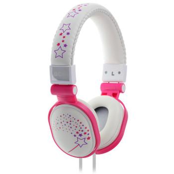 Image for Moki Popper Headphones - Sparkles White AusPCMarket