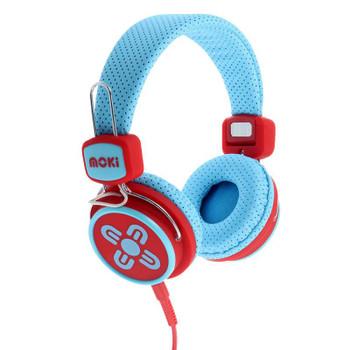 Image for Moki Kid Safe Volume Limited - Blue/Red AusPCMarket