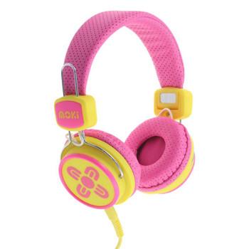 Image for Moki Kid Safe Volume Limited - Pink/Yellow AusPCMarket