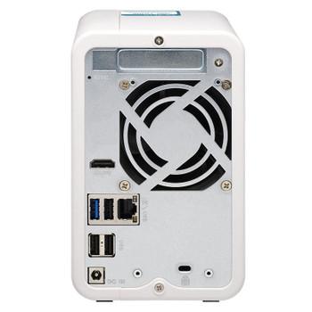QNAP TS-251D-2G 2-Bay Diskless NAS Celeron J4005 Dual-Core 2.0GHz CPU 2GB RAM Product Image 2
