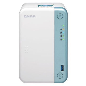 Image for QNAP TS-251D-4G 2-Bay Diskless NAS Celeron J4005 Dual-Core 2.0GHz CPU 4GB RAM AusPCMarket