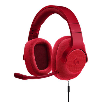 Image for Logitech G433 7.1 Surround Wired Gaming Headset - Red AusPCMarket