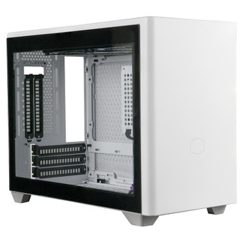 Image for Cooler Master MasterBox NR200P Tempered Glass Mini-ITX Case - White AusPCMarket