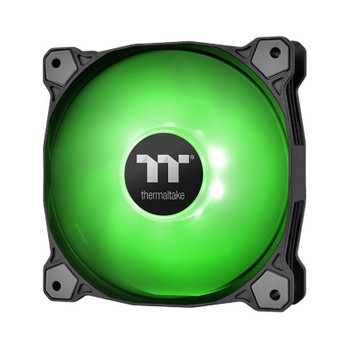 Image for Thermaltake Pure A12 120mm LED Radiator Fan - Green AusPCMarket