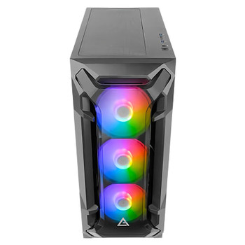 Antec DF600 Flux High Airflow ARGB Tempered Glass Mid-Tower Case - Black Product Image 2