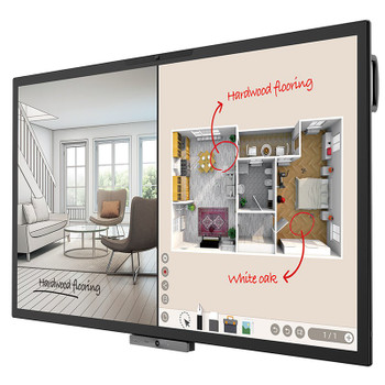 BenQ CP6501K 65in DuoBoard Corporate Interactive Flat Panel Product Image 2