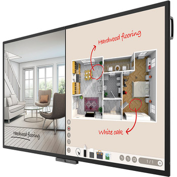 BenQ CP8601K 86in DuoBoard Corporate Interactive Flat Panel Product Image 2