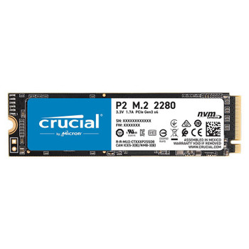 Image for Crucial P2 1TB NVMe M.2 PCIe 3D NAND SSD CT1000P2SSD8 AusPCMarket