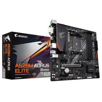 Image for Gigabyte A520M AORUS Elite AM4 Micro-ATX Motherboard AusPCMarket