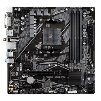 Gigabyte A520M DS3H AC AM4 Micro-ATX Motherboard Product Image 2