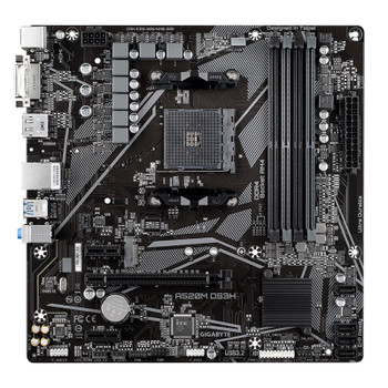 Gigabyte A520M DS3H AM4 Micro-ATX Motherboard Product Image 2