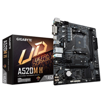 Image for Gigabyte A520M H AM4 Micro-ATX Motherboard AusPCMarket