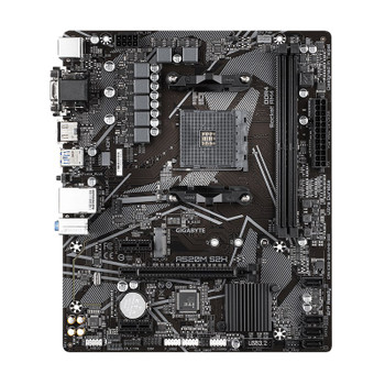 Gigabyte A520M S2H AM4 Micro-ATX Motherboard Product Image 2
