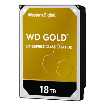Image for Western Digital WD WD181KRYZ 18TB Gold 3.5in SATA 6Gb/s 512e Enterprise Hard Drive AusPCMarket