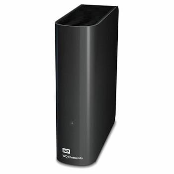 Western Digital WD Elements 12TB USB 3.0 Desktop External Hard Drive WDBBKG0120HBK-AESN Product Image 2