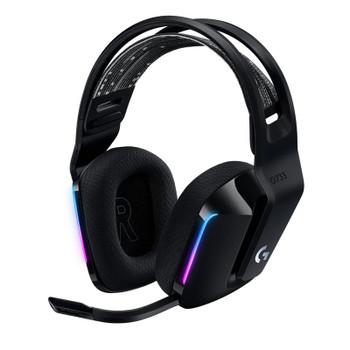 Image for Logitech G733 LIGHTSPEED Wireless RGB Gaming Headset - Black AusPCMarket