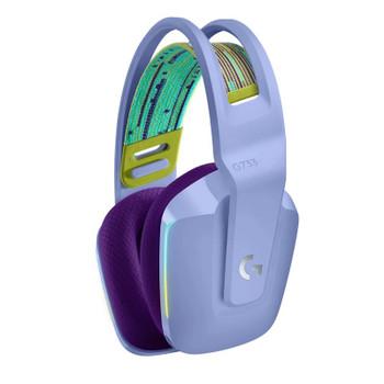 Logitech G733 LIGHTSPEED Wireless RGB Gaming Headset - Lilac Product Image 2