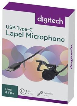 Digitech USB-C Lapel Microphone Product Image 2