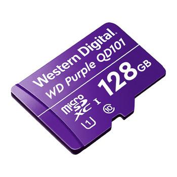 Western Digital WD Purple SC QD101 128GB microSDXC U1 Memory Card Product Image 2