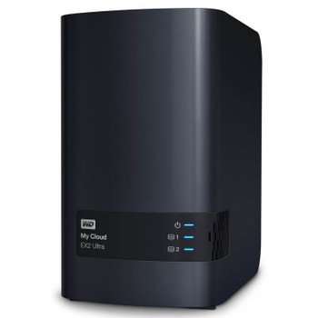 Image for Western Digital WD My Cloud EX2 Ultra 2-Bay Hotswap NAS 1.3GHz Dual-Core 1GB RAM AusPCMarket
