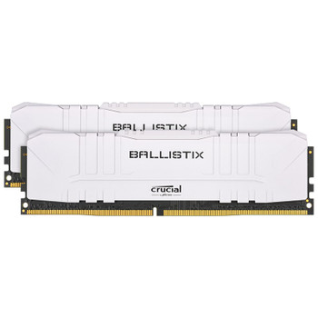 Image for Crucial Ballistix 32GB (2x 16GB) DDR4 3600MHz Memory - White AusPCMarket