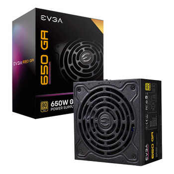 Image for EVGA SuperNOVA GA Series 650W 80+ Gold Fully Modular Power Supply AusPCMarket