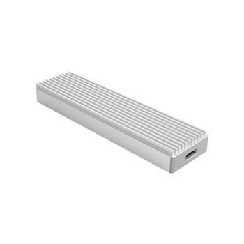 Orico M2PJ-C3 Aluminium M.2 NVMe SSD to USB-C Enclosure - Silver Product Image 2