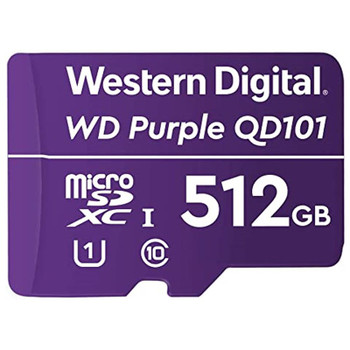Image for Western Digital WD Purple SC QD101 512GB microSDXC U1 Memory Card AusPCMarket