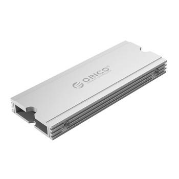 Image for Orico M2SRA Aluminium M.2 SSD Heatsink - Metallic Silver AusPCMarket