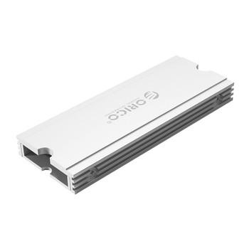 Orico M2SRA Aluminium M.2 SSD Heatsink - Metallic Silver Product Image 2