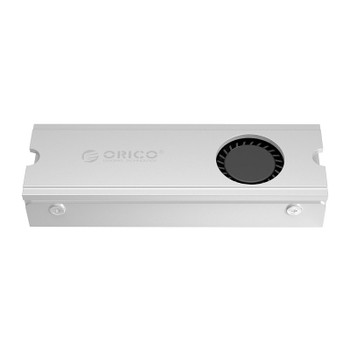 Orico M2SRC Aluminium M.2 SSD Heatsink with Fan - Metallic Silver Product Image 2