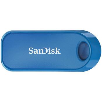 Image for SanDisk 32GB CZ62 Cruzer Snap USB 2.0 Flash Drive - Blue AusPCMarket