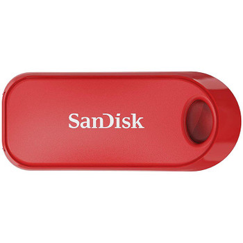 Image for SanDisk 32GB CZ62 Cruzer Snap USB 2.0 Flash Drive - Red AusPCMarket