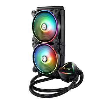 Image for Adata XPG Levante 240 ARGB LED 240mm All-in-One Liquid CPU Cooler AusPCMarket